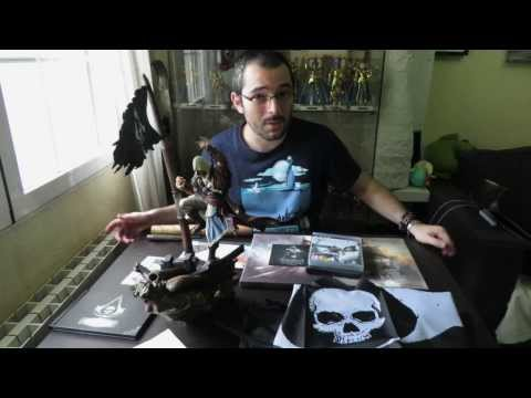 Unboxing Assassin's Creed 4 Black Flag Black Chest Edition