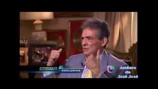 José José en entrevista en PRIMER IMPACTO 22/Julio/2013
