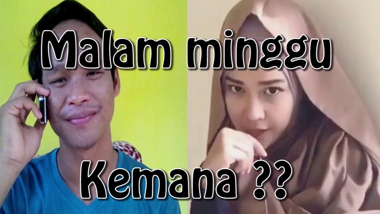 Video Lucu Ridha Amaliah Malam Minggu Kemana KomVicu YouTube