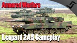 Armored Warfare - Leopard 2A5 Gameplay