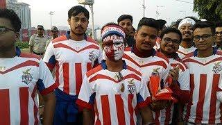 এটিকের প্রথম হোম ম্যাচে যুবভারতীতে সমর্থকদের উচ্ছ্বাস | ATK vs FC Pune City | ISL 2017
