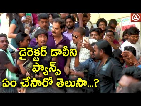 Director Dolly was blockade by Fans at Theatre's | Namaste