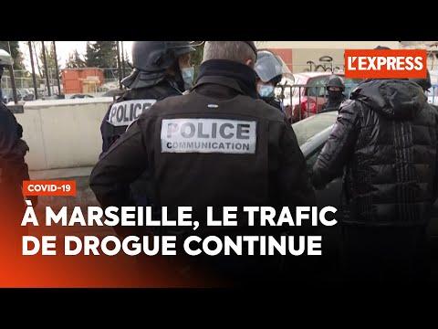 Marseille: le trafic de drogue continue malgré le confinement