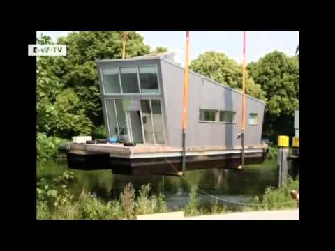 wohnen im hausboot in oldenburg euromaxx youtube. Black Bedroom Furniture Sets. Home Design Ideas