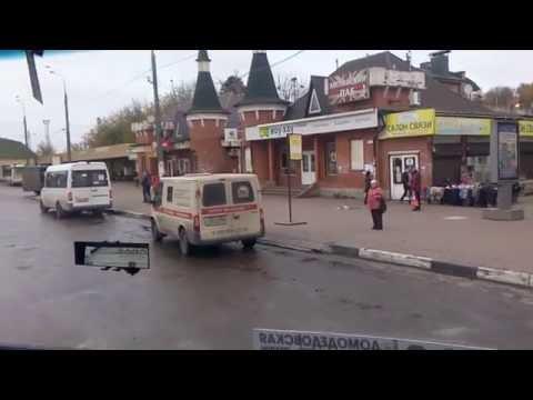 . Домодедово-Москва. Поездка на автобусе №496