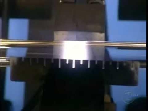 Principe de fabrication d'une fibre optique