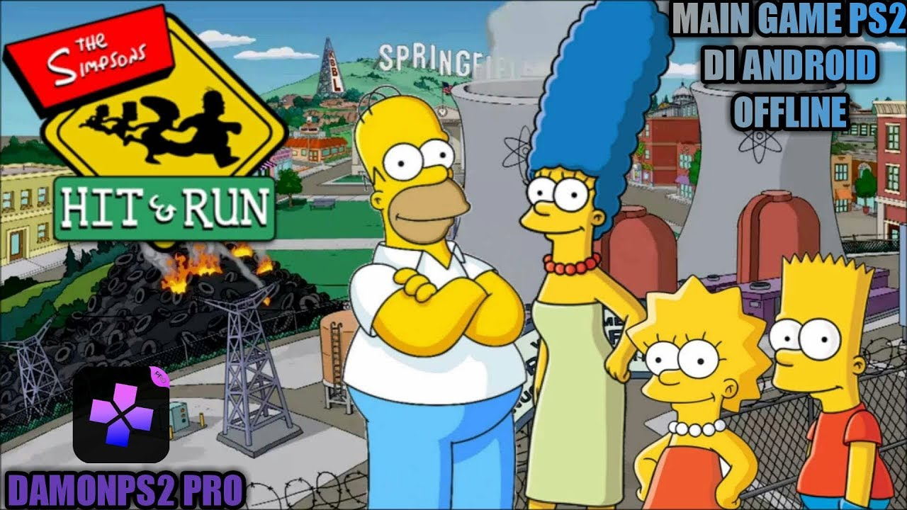 los simpsons hit and run ps2 iso