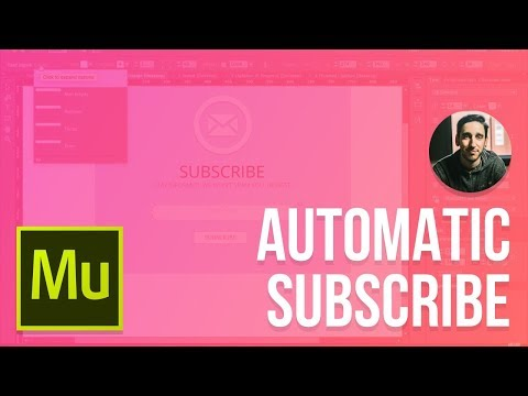 Adobe Muse 2015 Tutorial   Automatic Subscribe Lightbox