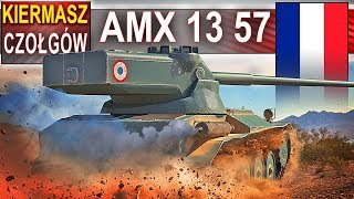 AMX 13 57 - mały ale wariat :) World of Tanks