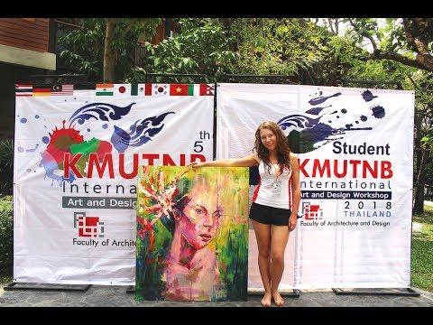 KMUTNB International Art & Design Workshop & Exhibition, Amphawa, Thailand