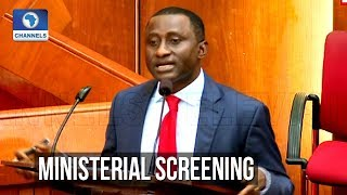 Senate Screens Uchechukwu Ogah