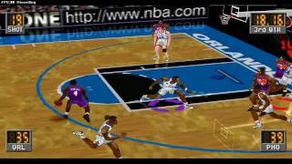 Retro PSX NBA In The Zone 2 Gameplay Orlando Magic vs Phoenix Suns