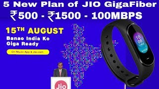 JIO Giga Fiber All Plans, Xiaomi Hey + better then MI Band 3, MI A2 Launched, #Tech Prime 172