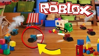 Roblox   RED VS BLUE TINY TANKS! (Worlds Smallest Tank Battle)