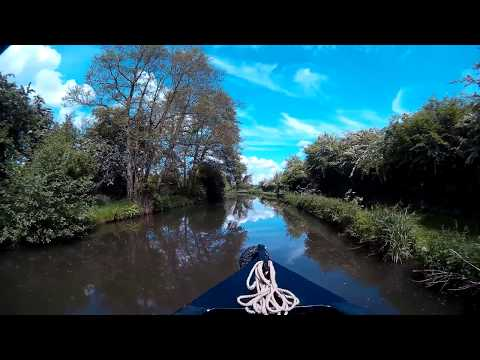Slow TV Trent & Mersey canal version 2