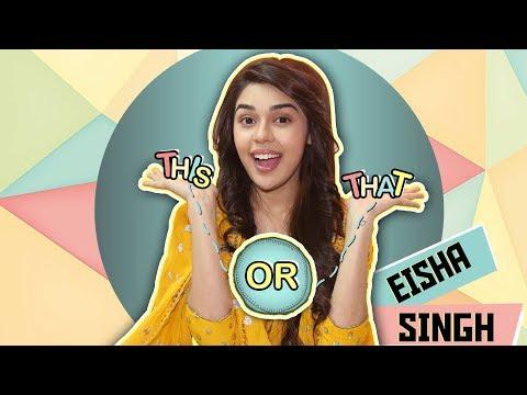 This Or That With Eisha Singh Aka Zara   Ishq Subhan Allah   Exclusive