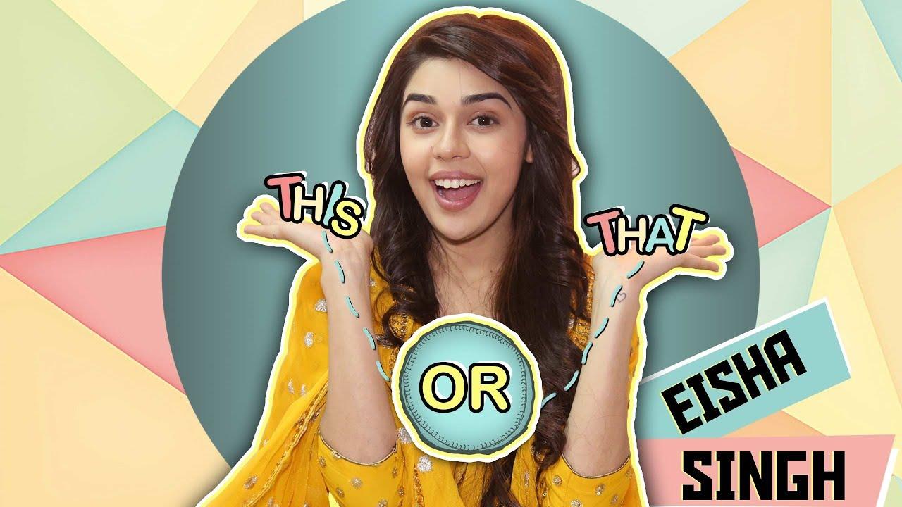 This Or That With Eisha Singh Aka Zara | Ishq Subhan Allah | Exclusive