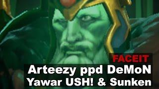 Arteezy ppd YawaR DeMoN Ush & Sunken FPL Dota 2