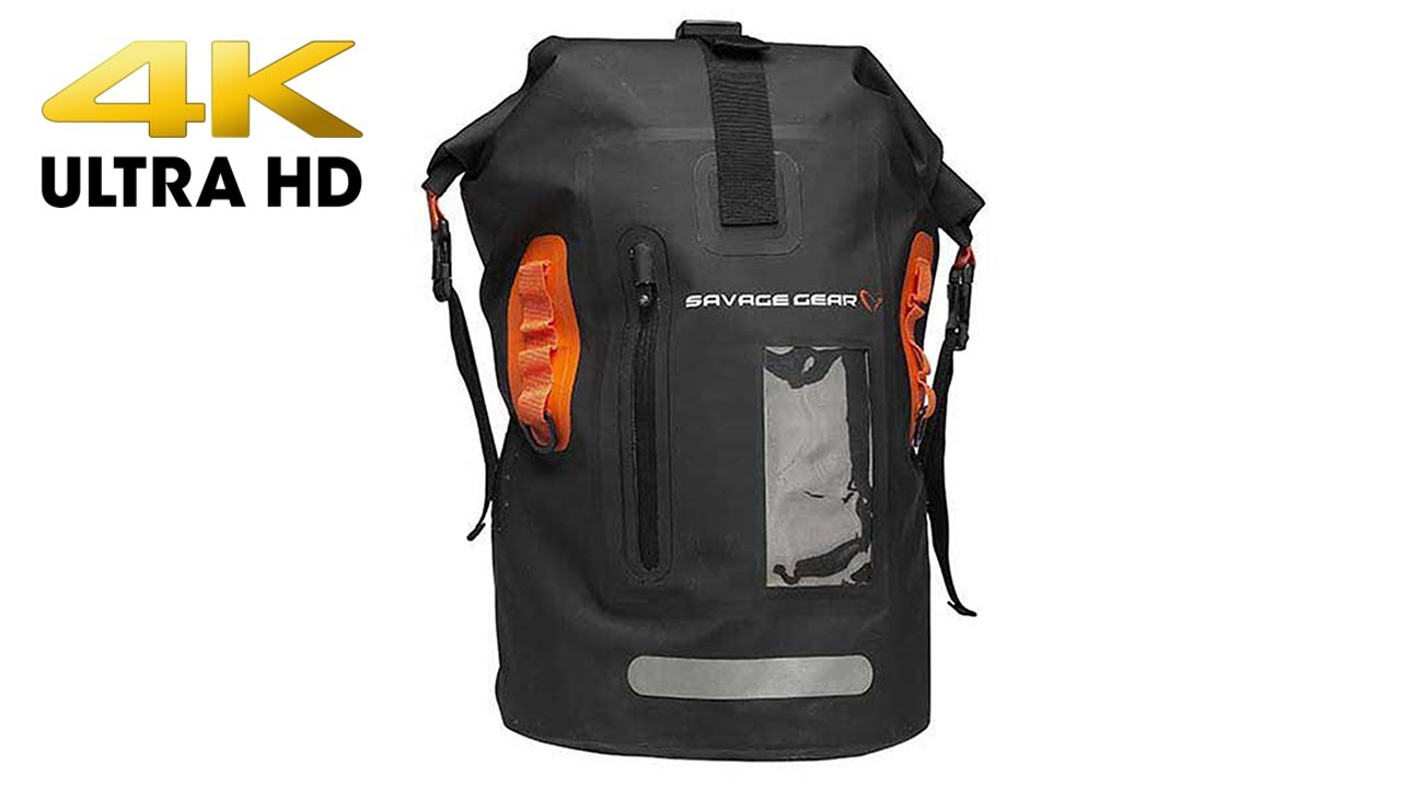 Savage Gear Waterproof Rollup Rucksack 40L Angelrucksack Bag wasserdicht WTP