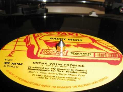 Barry Biggs - Break your Promise