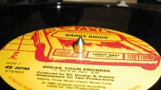 Barry Biggs - Break your Promise
