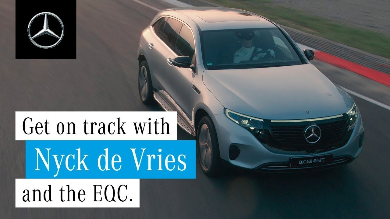 Test Drive of the EQC with Nyck de Vries