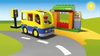 Видео обзоры LEGO Duplo Школьный автобус
