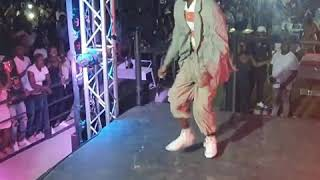 Limpopo Boy showing and supporting up coming dancers