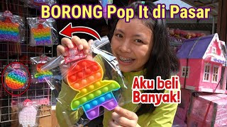 BORONG POP IT DI PASAR ! Banyak Model Terbaru Harga Murah !