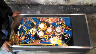 Pinball Wizard Coffee Table Being Played