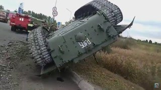 Подборка танк перевернулся прикол / funny tank overturned,new physics