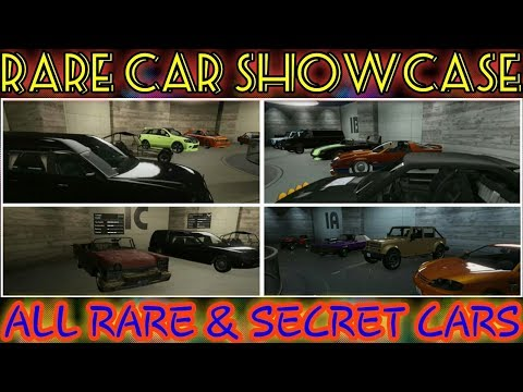 GTA5 EVERY RARE CAR in ONLINE!!!