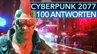 Cyberpunk 2077: 100 Fragen zu Open World, Gameplay und RPG