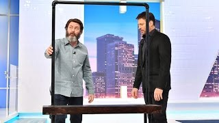 nick offerman critiques harrys woodworking
