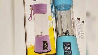 ريفيو عن الخلاط المحمول واستخدامه Portable Blender | سعر الخلاط المحمول في حدود ١٤٣ جنيه مصري