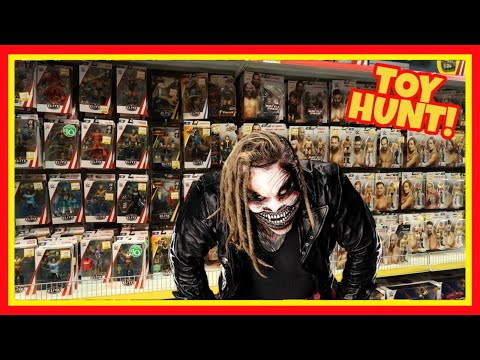 TOY HUNT!!! The Fiend Leaves A Surprise? WWE Action Figure Fun #123