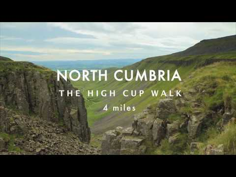 Best Walks With A View - High Cup Nick Route Overview