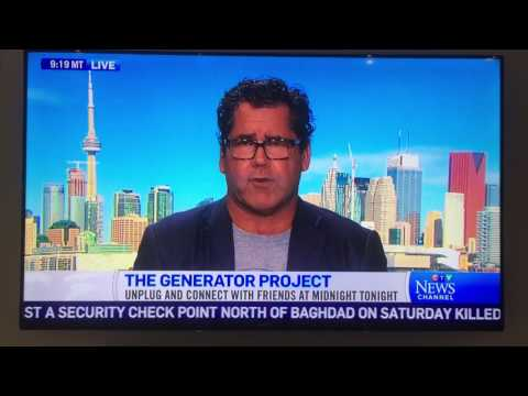 The Generator Project -  CTV Newsnet Interview - 2016