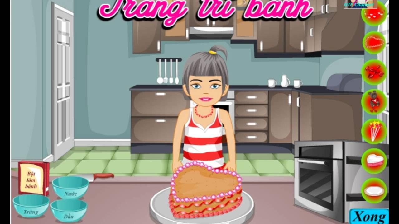 [ Review ] Chơi game nấu ăn :  Bánh Ngon Tặng Mẹ , nấu bánh ngọt tặng mẹ
