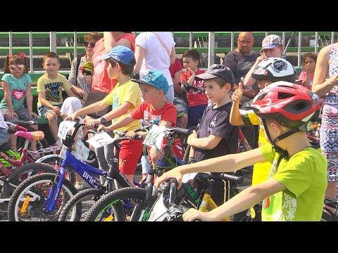 Телеканал НТК: У Коломиї відбулися дитячі велоперегони