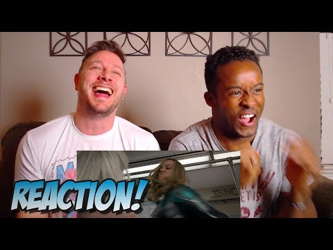 Captain Marvel (2019) - Official Trailer 2 Reaction (Marvel Studios)