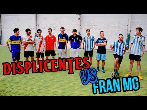 Los Displicentes vs Fran MG   RETO EN CANCHA DE 5