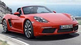 Porsche 718 Boxster Review- NEW BOXSTER