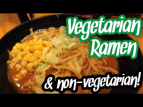 Vegetarian Ramen in Kyoto Station - Japan Vlog