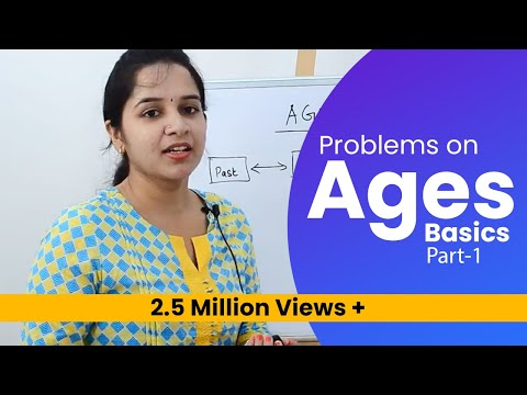 Aptitude Made Easy - Problems on Ages Part-1 – Basics and Methods, Examples, Math tricks