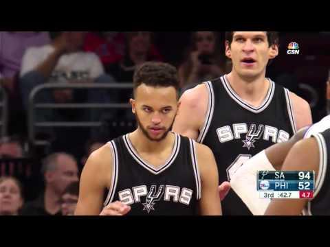 Kyle Anderson Full Game Highlight VS Philadelphia 76ers (7Points,5Rebounds)