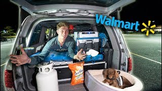 overnight-camp-and-cook-in-walmart-parking-lot-will-it-work