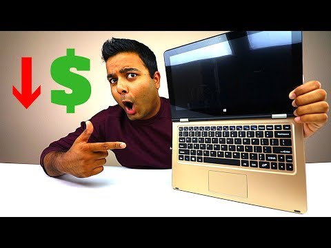 AWESOME LOW COST GOLD LAPTOP!! (VOYO VBOOK)