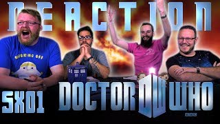 """Doctor Who 5x1 REACTION!! """"The Eleventh Hour"""""""