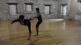 entrenamiento arena danza contemporánea